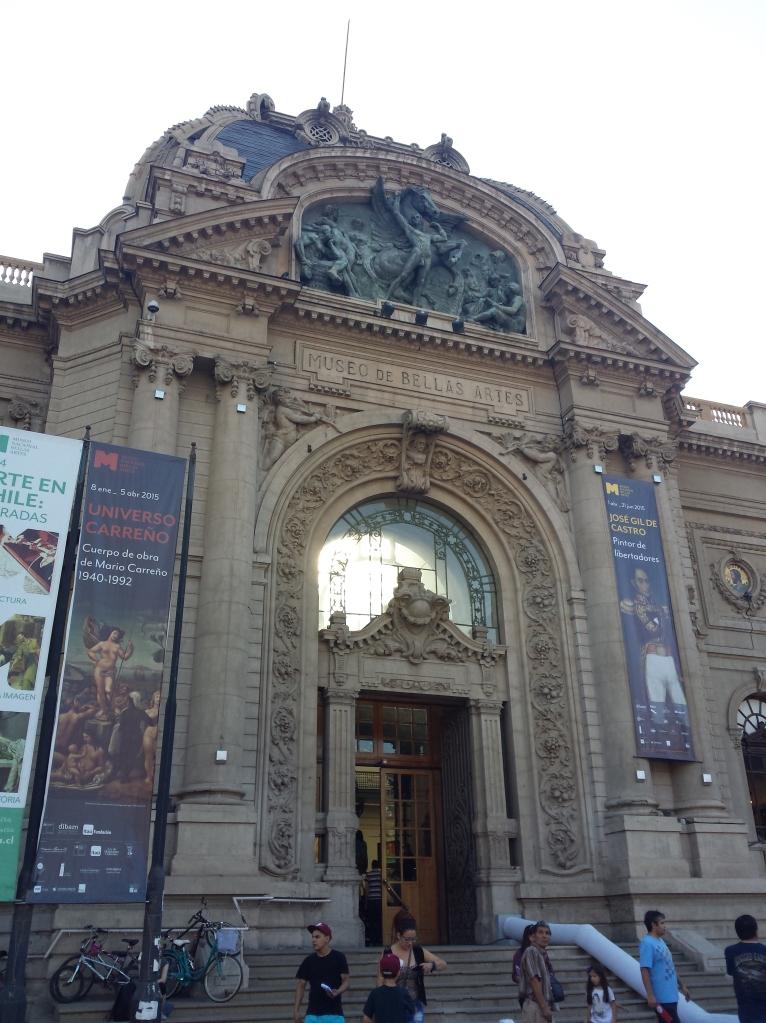 O museu de Belas Artea