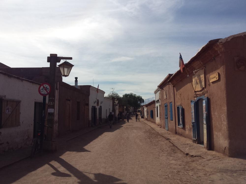 A cidade de San Pedro