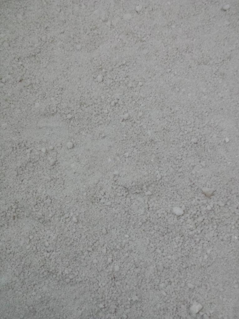 O chão de puro sal do hostel