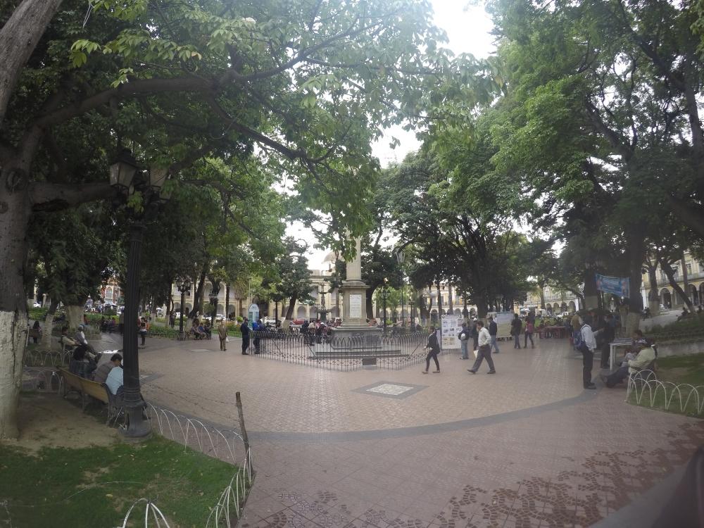 A Plaza principal