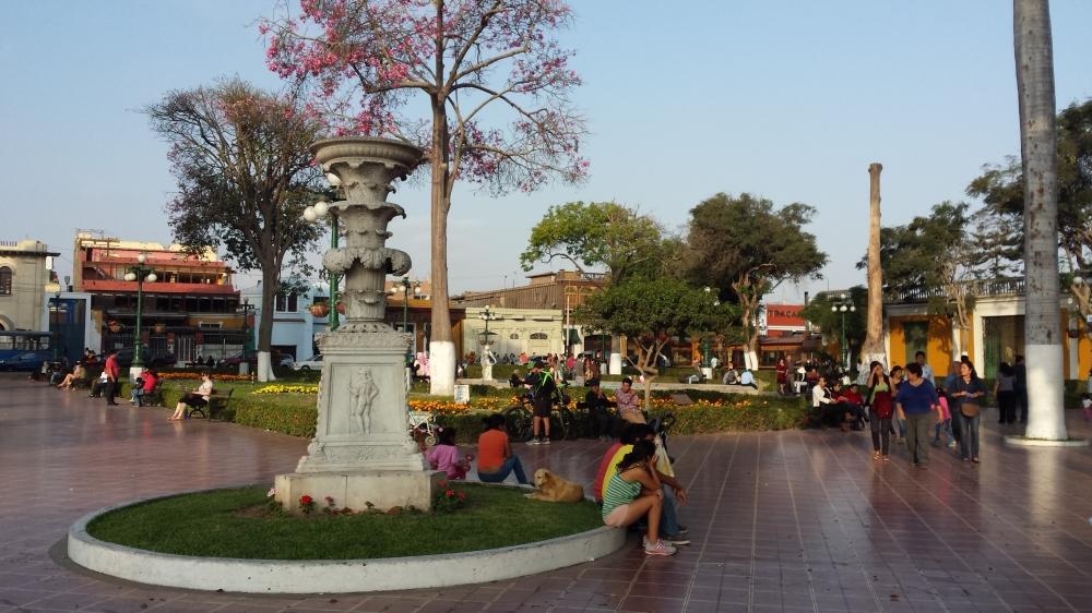 Plaza principal de Nazca