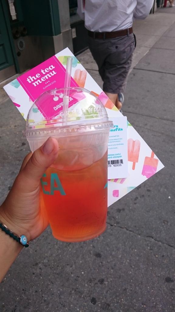 Meu Iced Tea grátis!