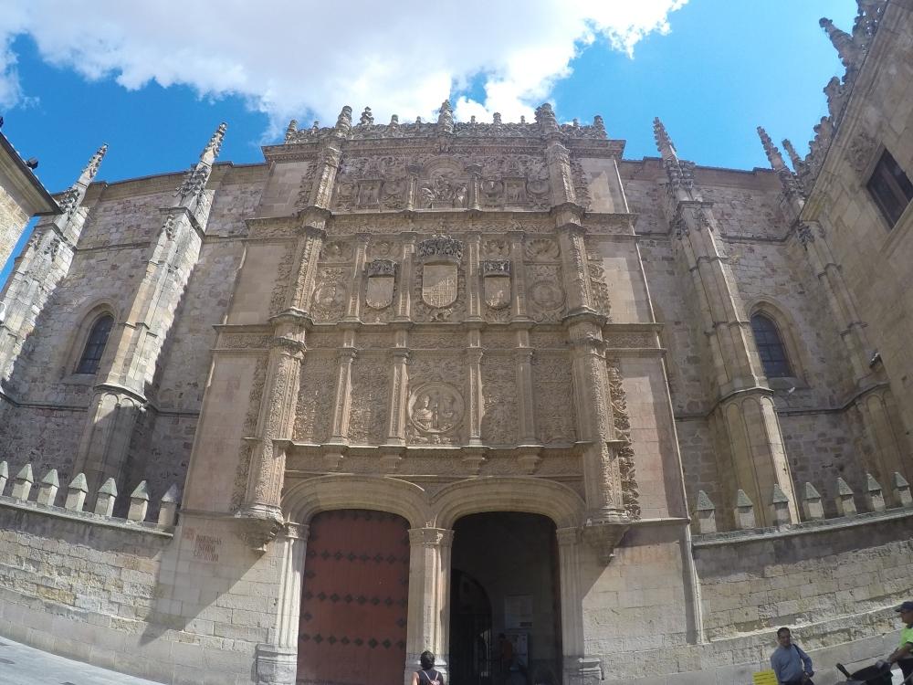 A fachada da Universidad Salamanca!