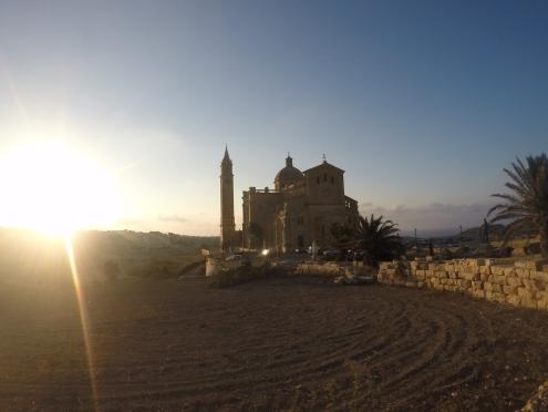 Perdida em Gozo... paisagem linda